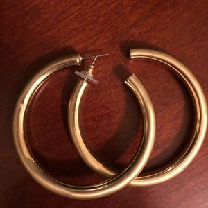 Red Dress Boutique gold hoops